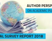 Editage releases global author survey with…