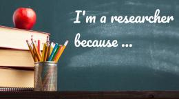 "VIDEO: Week 2 challenge 2 - ""I am a researcher because..."""