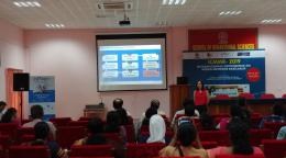 Editage conducts a workshop at the International Conference on Mixed Methods Research, Kerala