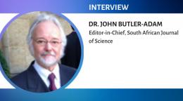 Interview with Dr. John Butler-Adam