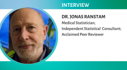 Interview with Dr. Jonas Ranstam, medical statistician and winner of the Sentinels of Science award