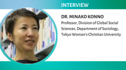 Interview with Professor Minako Konno on sociological aspects of gender bias in academia in Japan