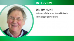 Part 3 of interview with Nobel Laureate Dr. Tim Hunt