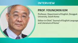 Interwith with Prof. Youngmin Kim, Department of English, Dongguk University, South Korea