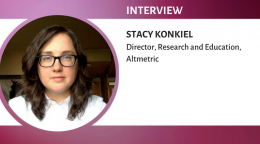 Stacy Konkiel, Altmetric
