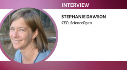Interview with Stephanie Dawson, CEO of ScienceOpen