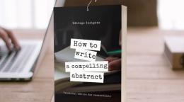 HANDBOOK: Write a compelling abstract - Practical advice for…