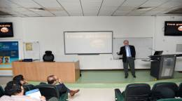 Editage workshop at King Saud University on increasing a manuscript's chances of acceptance