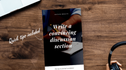 HANDBOOK: Write a convincing discussion section – The key to journal…