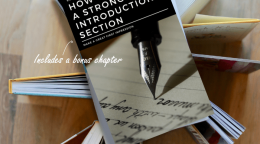 Write a strong introduction section – Make a great first impression