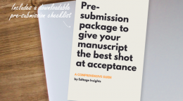 HANDBOOK: Pre-submission package to give your manuscript the best…