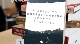 A guide to understanding journal statuses