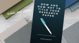 How and how not to title your research paper: A handbook for authors