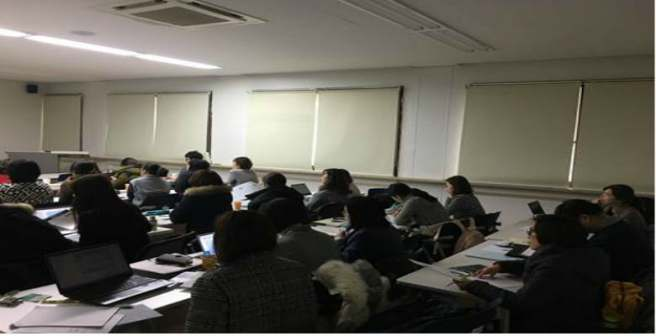 Editage workshops in Korea on writing, structuring, and making a manuscript submission ready