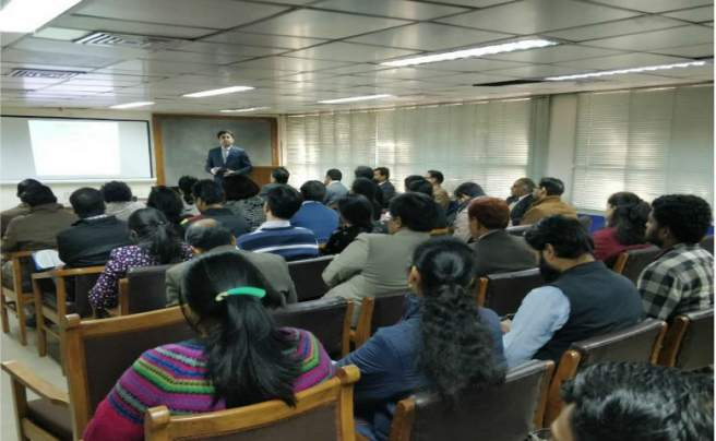 Wolters Kluwer and Editage workshop on scientific writing at National Medical Library, Delhi, India