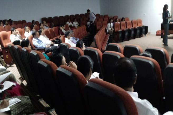 Editage workshop at MS Ramaiah Medical College, Bengaluru
