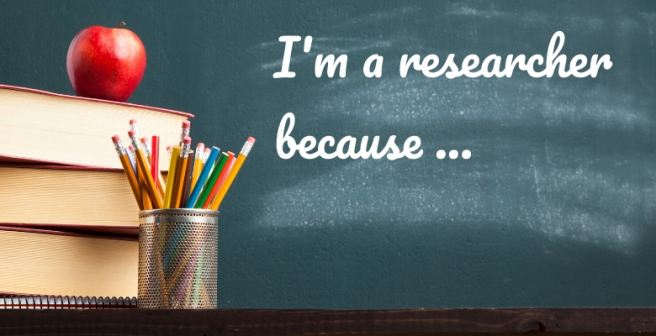"Week 2 challenge 2 - ""I am a researcher because..."""