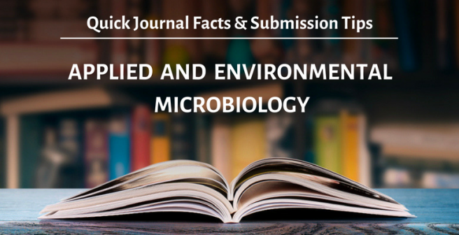 Applied and Environmental Microbiology: Quick facts and submission tips