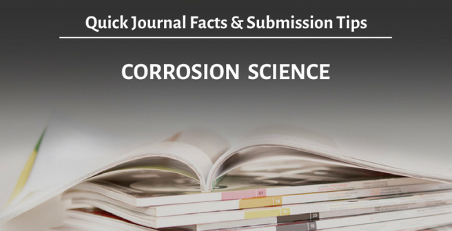 Corrosion Science: Quick facts and submission tips