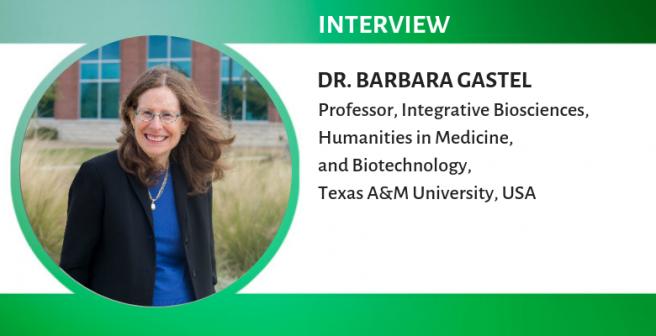 Understanding science communication better: A conversation with Barbara Gastel