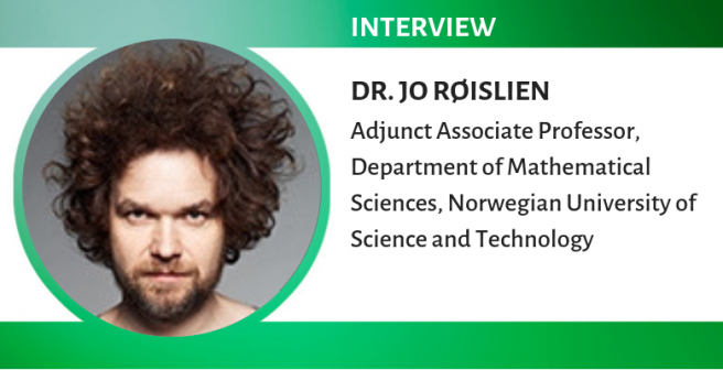 Dr. Jo Røislien: It's a great time for being a biostatistician!