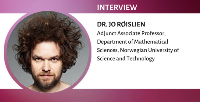 Dr. Jo Røislien: Publishing to bring mankind one step further