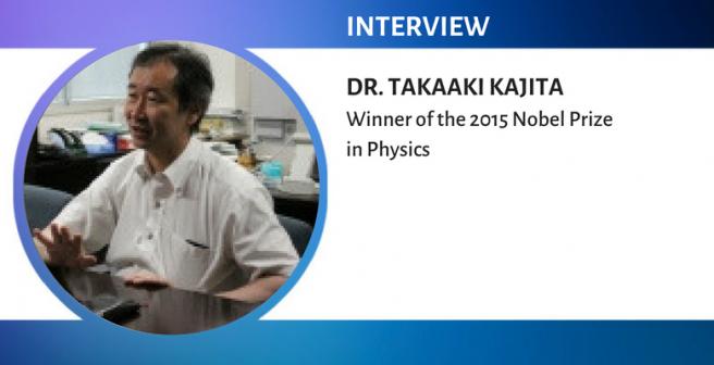 Nobel Laureate Takaaki Kajita: In my days, nobody felt rushed just because research was making slow progress