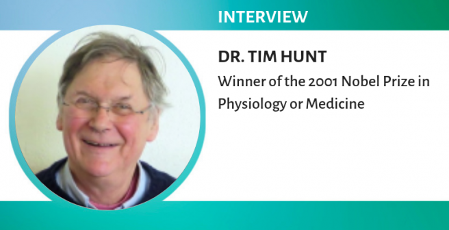 Nobel Laureate Tim Hunt on what it's like to win a Nobel Prize