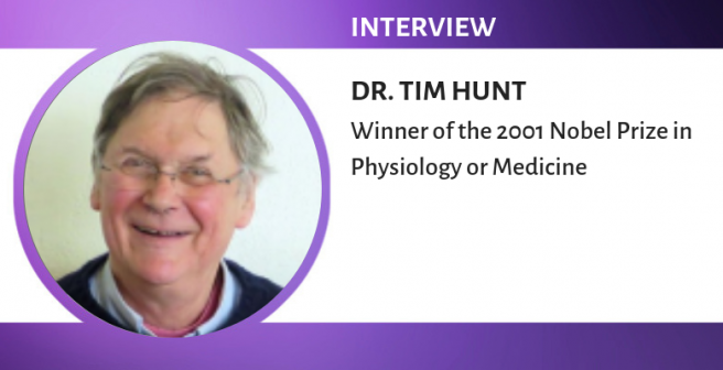 The most difficult aspect of research is to find a good problem to work on, says Dr. Tim Hunt