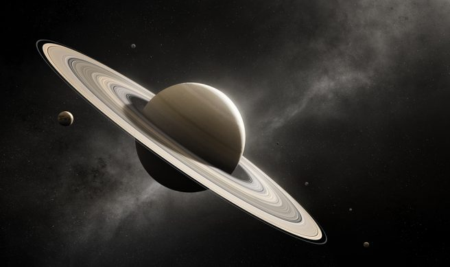 Saturn's rings formed 4.4 billion years ago