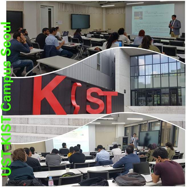 Editage conducts workshop series at the University of Science and Technology-Korea Institute of Science and Technology (UST), Seoul