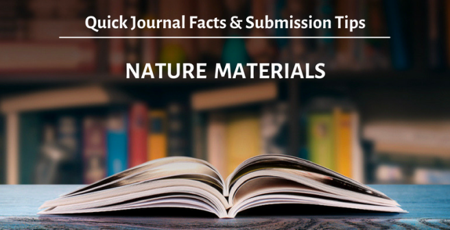Nature Materials: Quick facts and submission tips