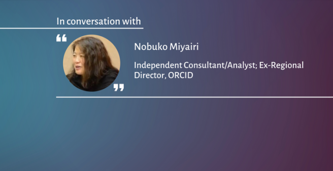 An ORCID iD is more than a number - Nobuko Miyairi