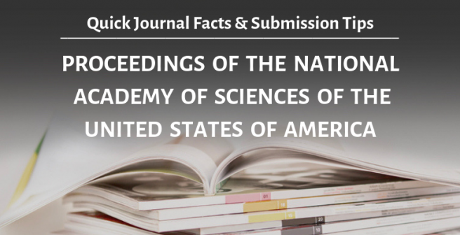 PNAS: Quick facts and submission tips | Editage Insights
