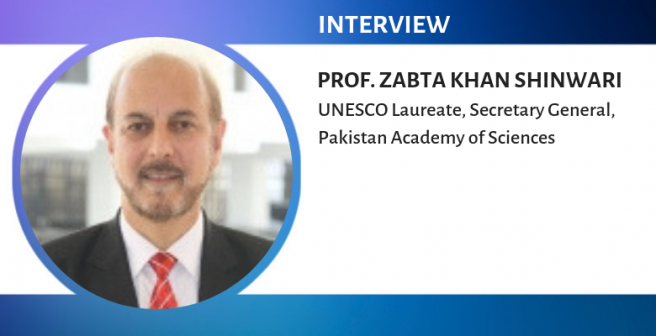 It is easy to assume that young ESL researchers are more likely to plagiarize - Prof. Zabta Khan Shinwari
