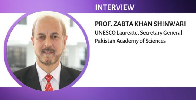 Science is important for policymaking - UNESCO laureate Zabta Khan Shinwari