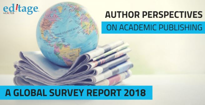 Editage releases global author survey with critical insights for scholarly publishers