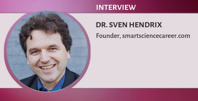 It was quite challenging to become a professor - Dr. Sven Hendrix