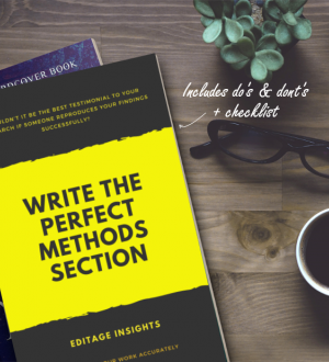 Write the perfect Methods section: Showcase your work accurately