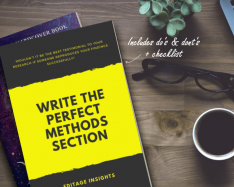 HANDBOOK: Write the perfect Methods section: Showcase your work accurately
