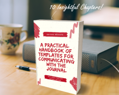 HANDBOOK: A practical handbook of templates for communicating with the journal